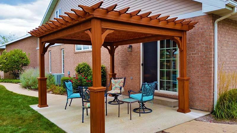 Choosing a pergola is choosing to add value