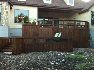custom wooden decks