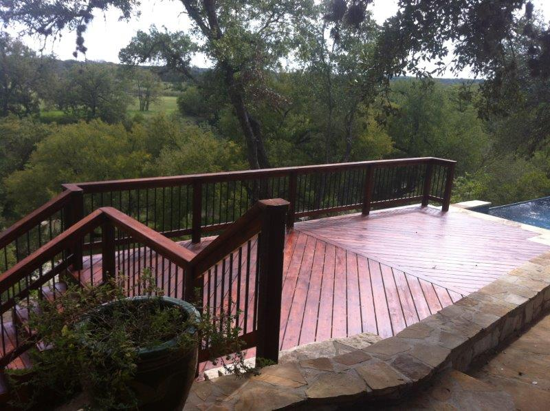 Texas deck builder